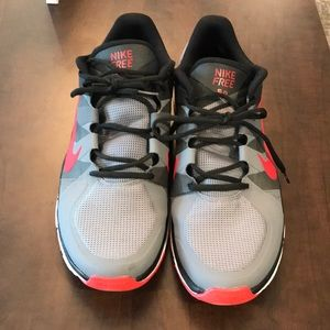Gray/Red/Black Nike Free 5.0 Size 13 Sneakers